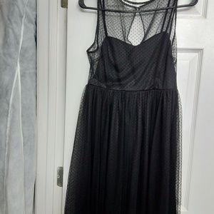 NEW Lauren Conrad, size 2, black dress